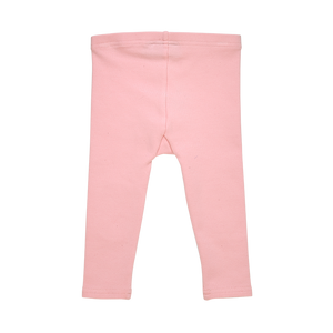 Rock Your Baby_Pink Baby Knee Patch Tights - The Child Hood