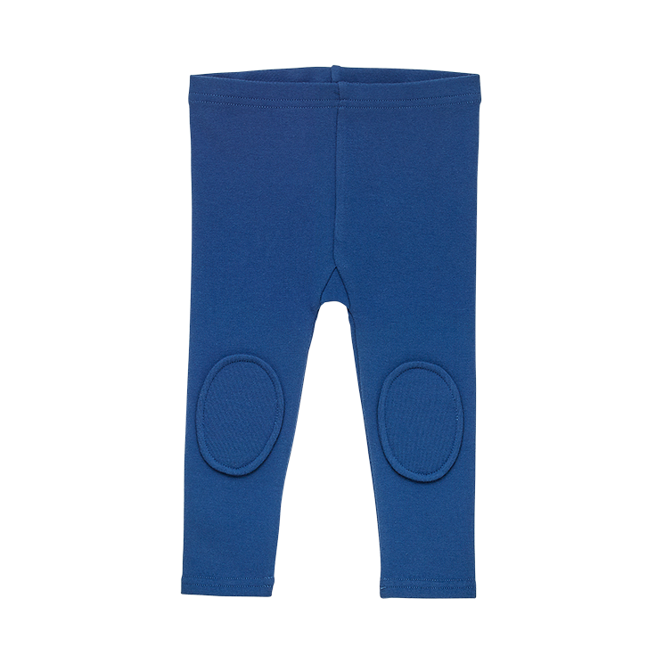 Rock Your Baby_Navy Knee Patch Baby Tights - The Child Hood