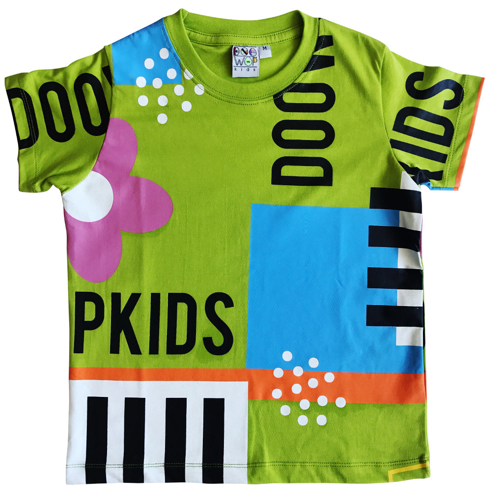 Doo Wop Kids_Club Paradise Tee - The Child Hood