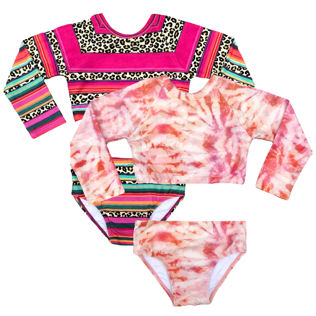Cape Chill Reversible Long Sleeved Bikini
