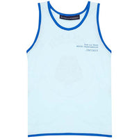 Raised by the Desert_Contender Singlet - Ice - The Child Hood