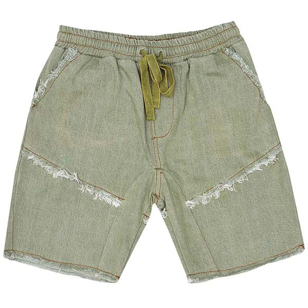 Raised by the Desert_Cooper Shorts - Denim Moss - The Child Hood