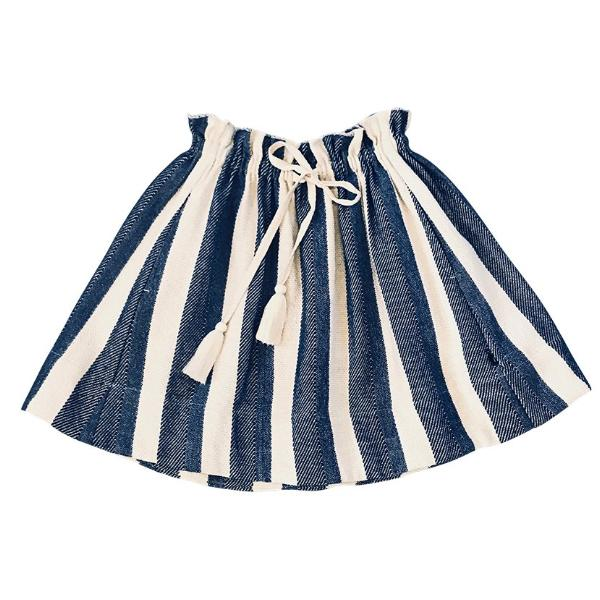 Feather Drum_Daria Midi Skirt - The Child Hood