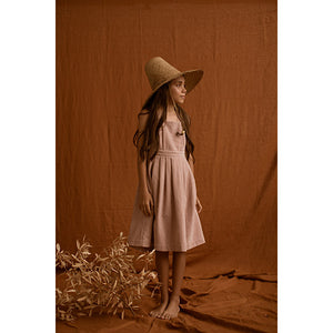 Feather Drum_Penelope Velvet Dress - Dusk - The Child Hood