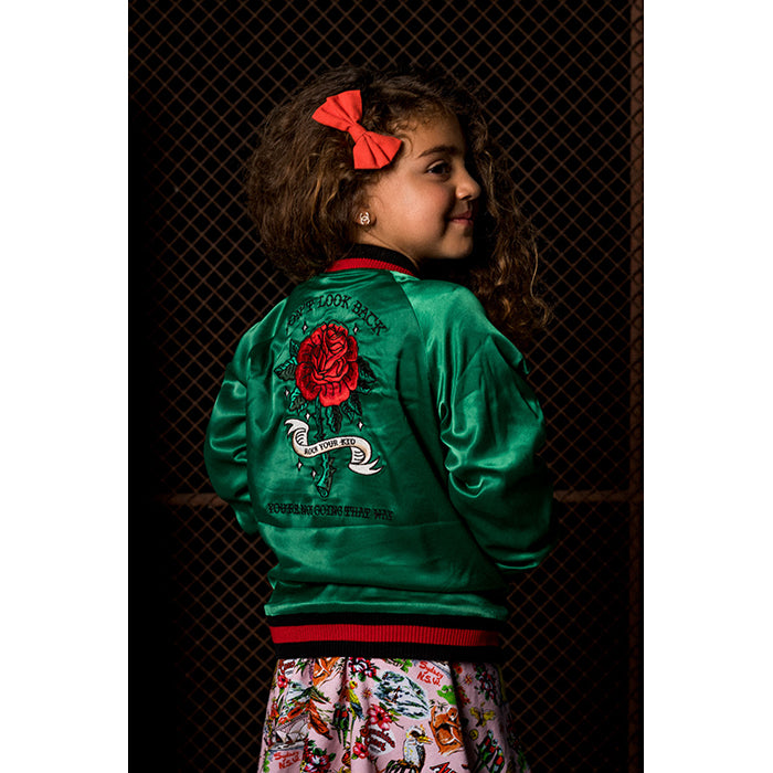 Rock Your Baby_Don't Look Back Reversible Jacket - The Child Hood