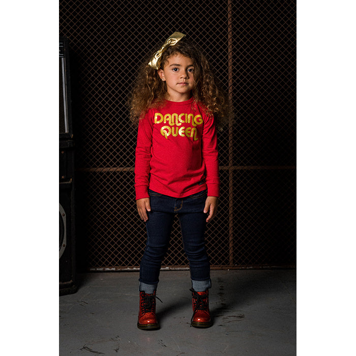 Rock Your Baby_Dancing Queen Long Sleeve T-Shirt - The Child Hood