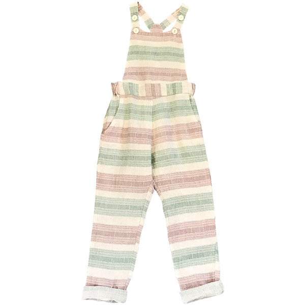 Feather Drum_Alexa Overalls - Beach Stripe - The Child Hood