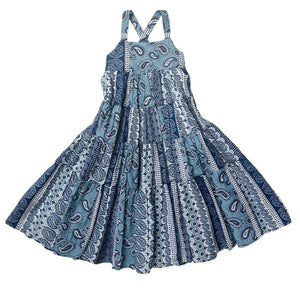 Feather Drum_Camilla X-back Maxi Dress - Bluesfest - The Child Hood