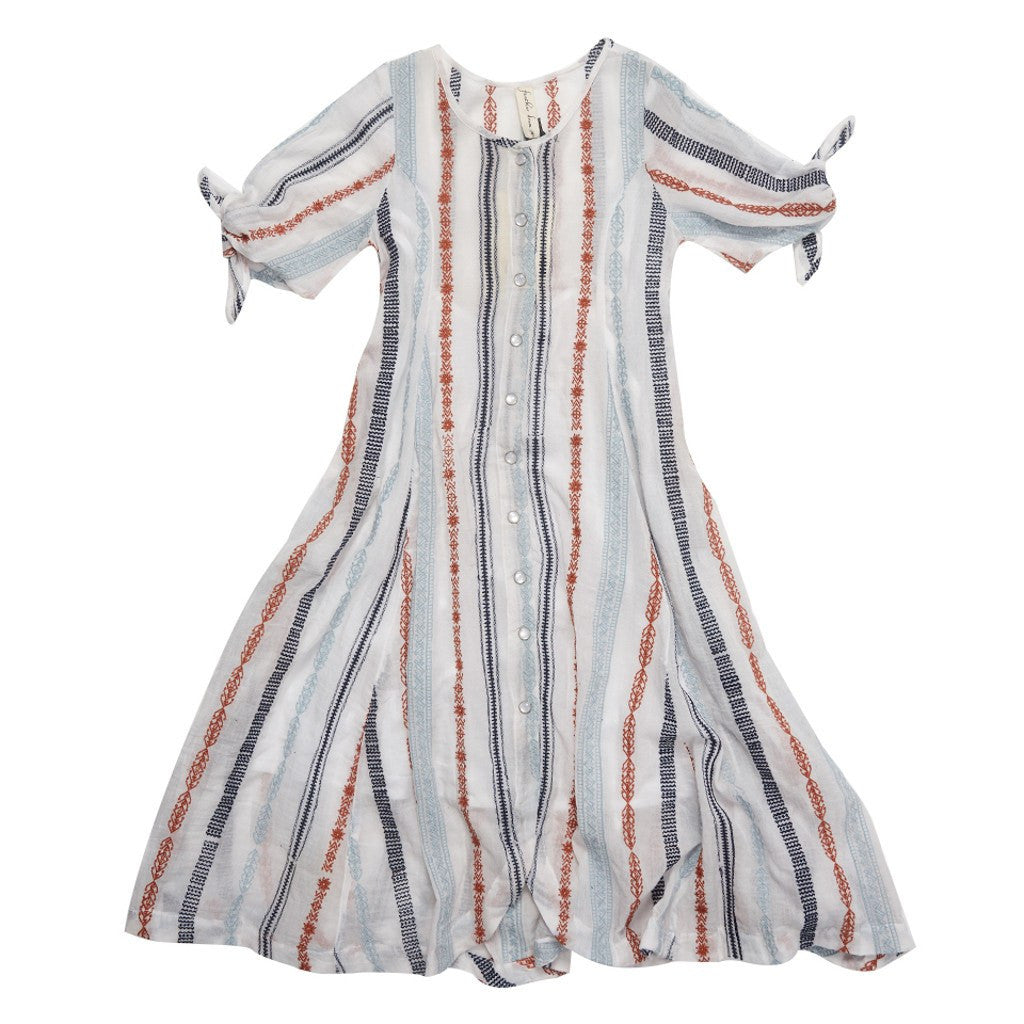 Feather Drum_Sierra Gown - Arizona Stripe - The Child Hood