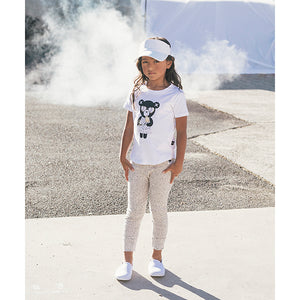 Huxbaby_Heart Bear T-Shirt - The Child Hood