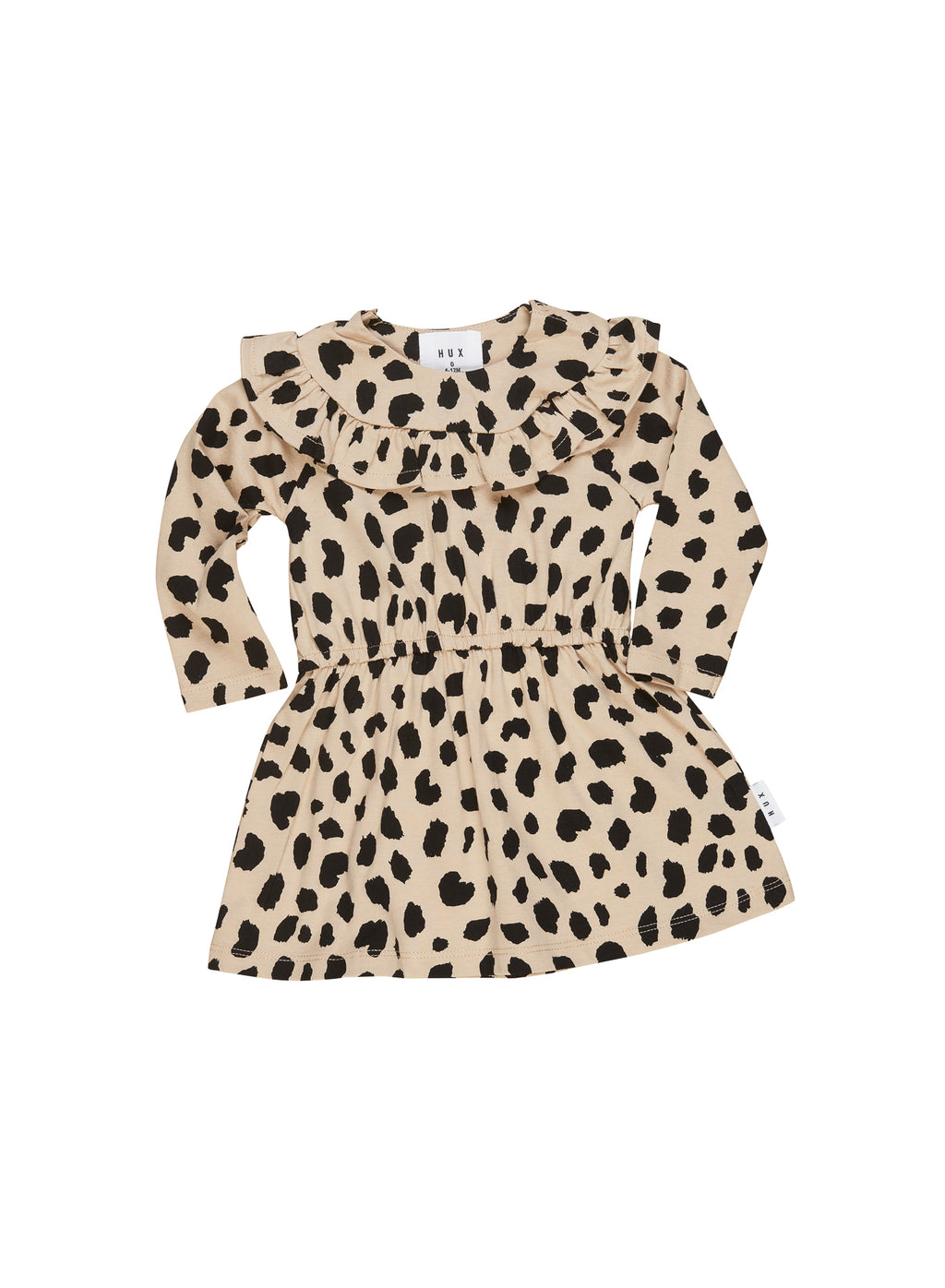 Huxbaby_Animal Spot Long Sleeve Dress - The Child Hood