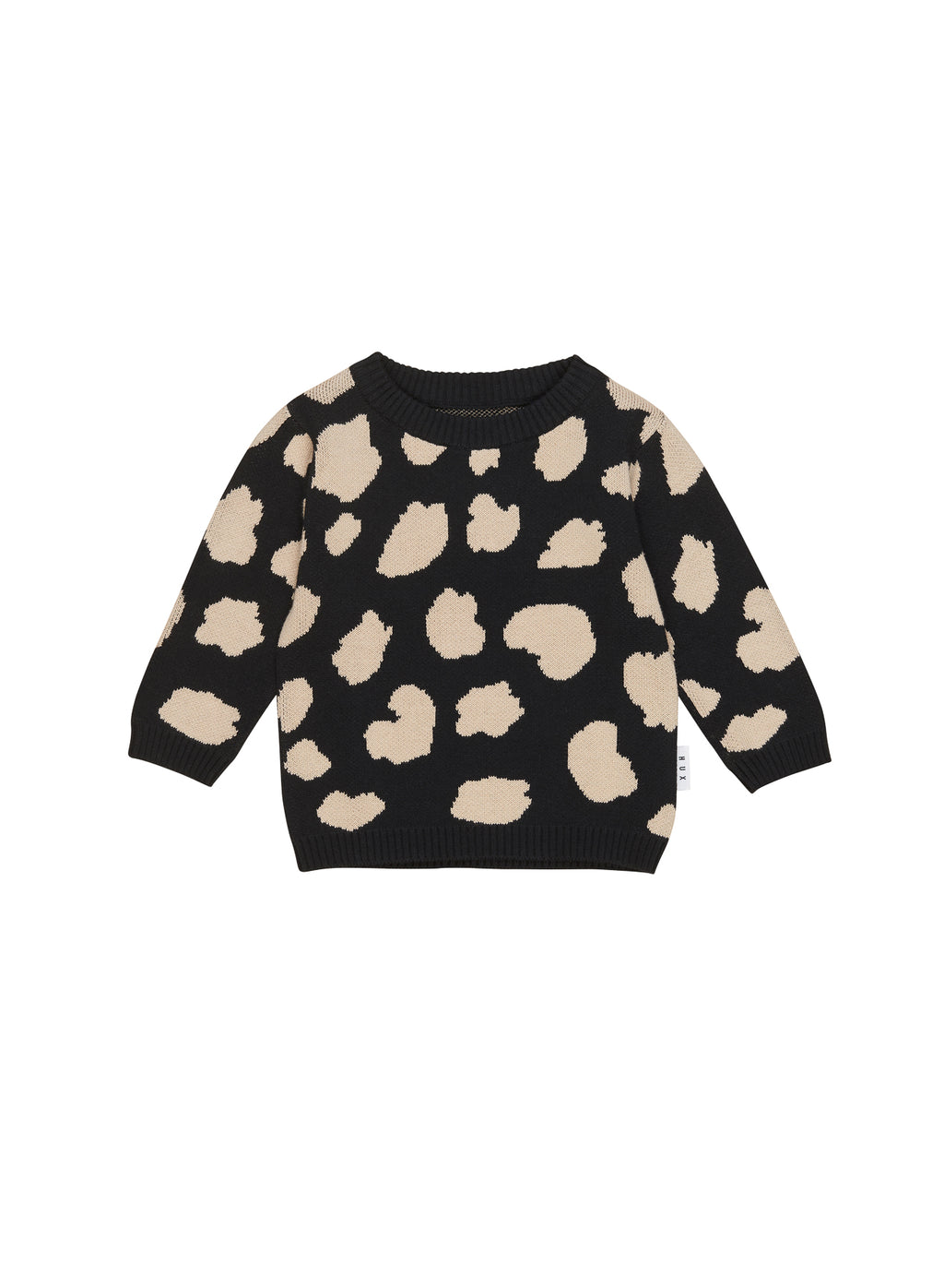 Huxbaby_Animal Spot Knit Jumper - The Child Hood