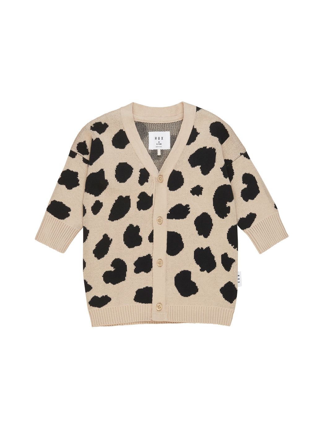 Huxbaby_Animal Spot Knit Cardi - The Child Hood