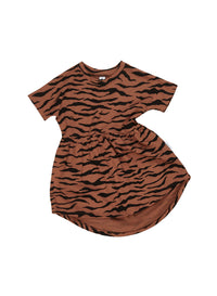 Huxbaby_Tiger Swirl Dress - The Child Hood