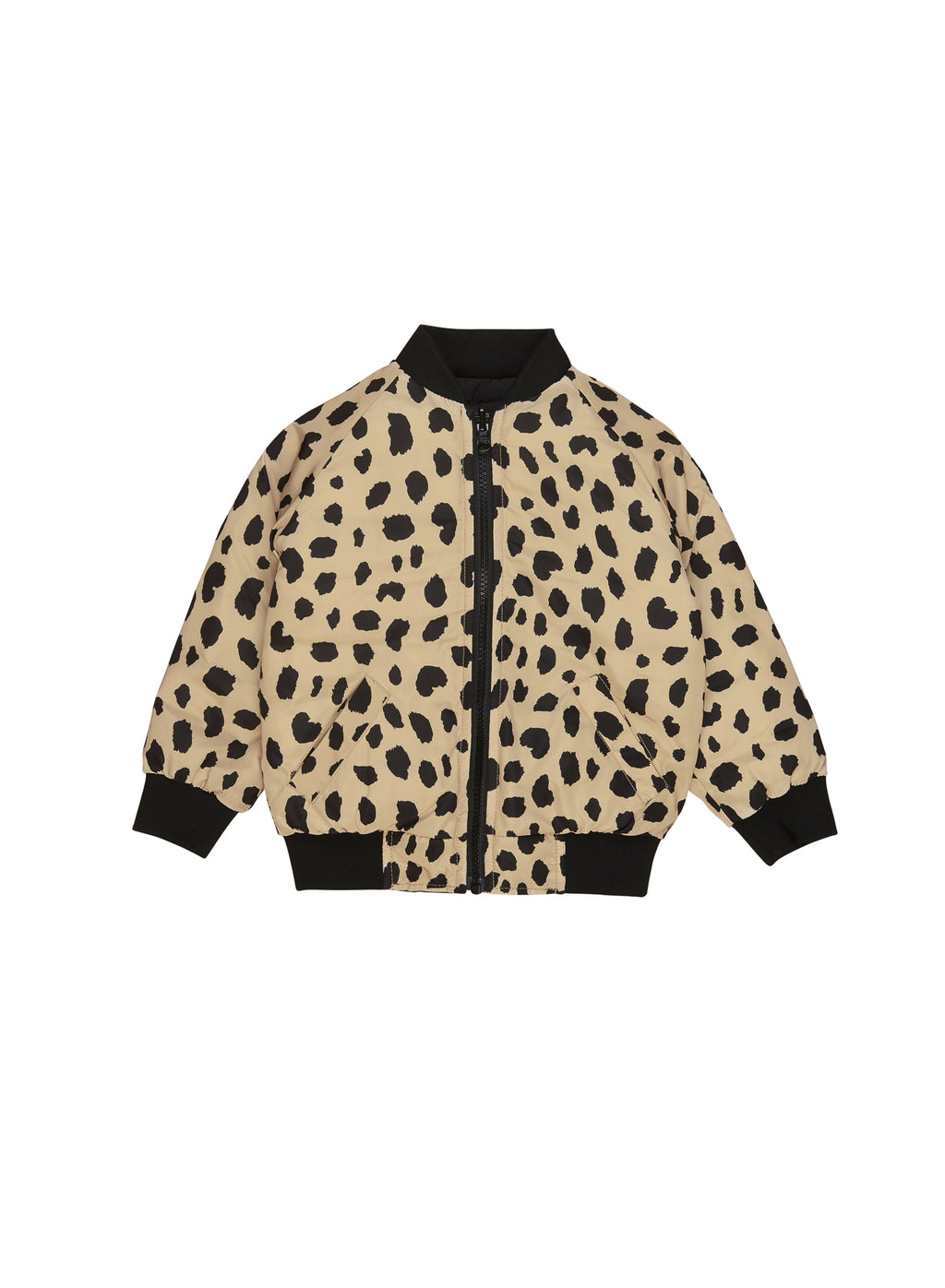 Huxbaby_Animal Spot Reversible Bomber - The Child Hood