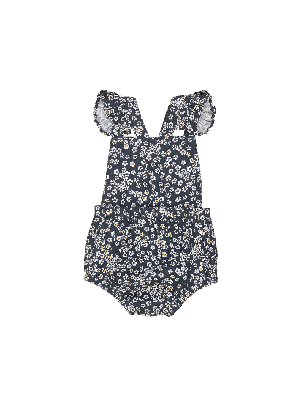 Huxbaby_Flower Frill Playsuit - The Child Hood