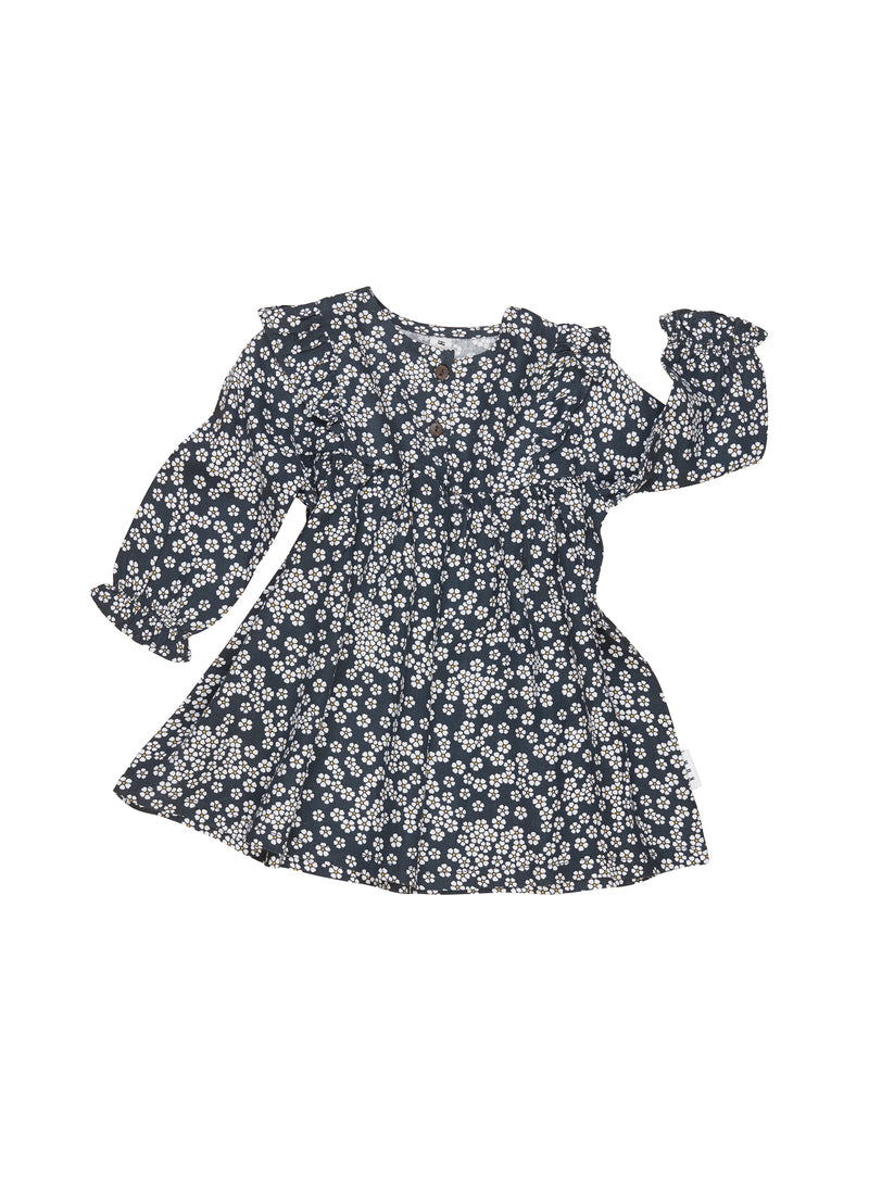 Huxbaby_Floral Frill Dress - The Child Hood