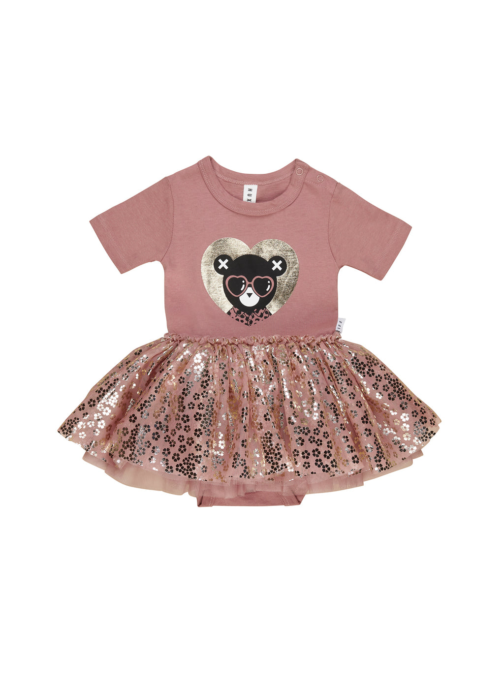 Huxbaby_Heart Bear Ballet Onesie - The Child Hood