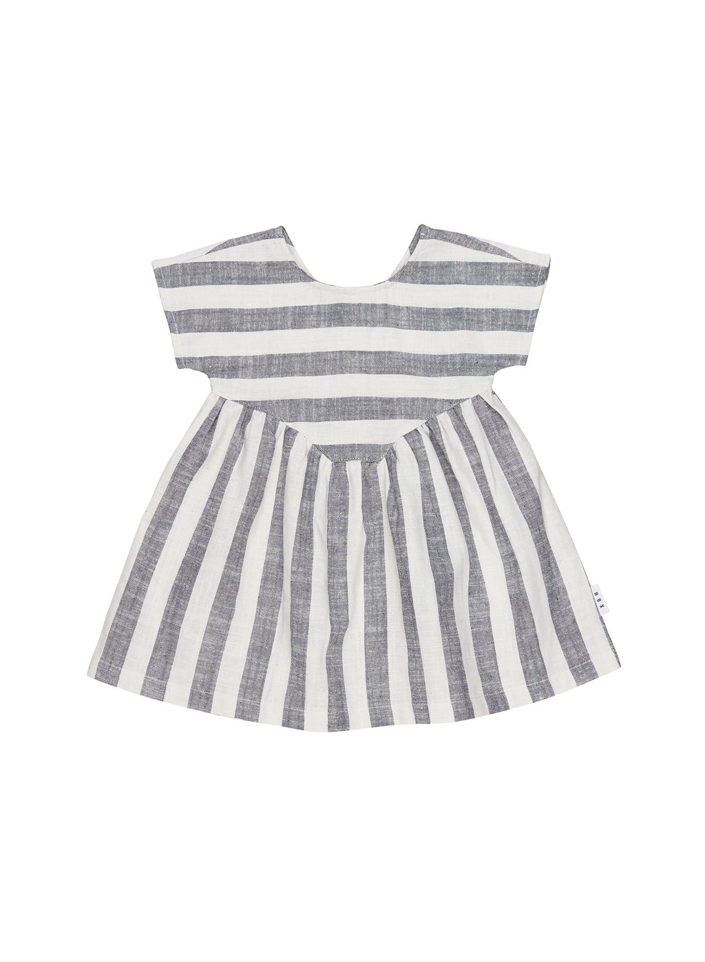 Huxbaby_Stripe Yoke Dress - The Child Hood