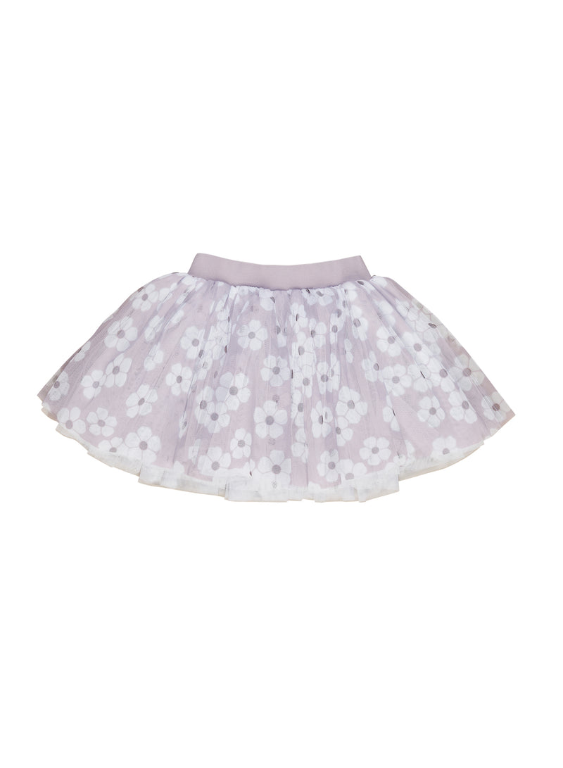 Huxbaby_Floral Tulle Skirt - The Child Hood