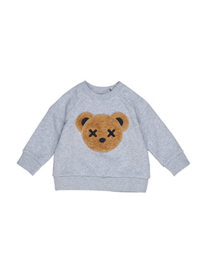 HUXBEAR APPLIQUE SWEATSHIRT