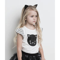Huxbaby_Cat Frill Top - The Child Hood