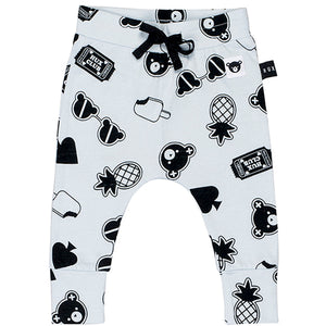 Huxbaby_Patches Drop Crotch Pants - The Child Hood