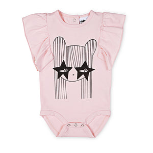 Kapow Kids_Starry Eye Ruffle Eye Bodysuit - The Child Hood