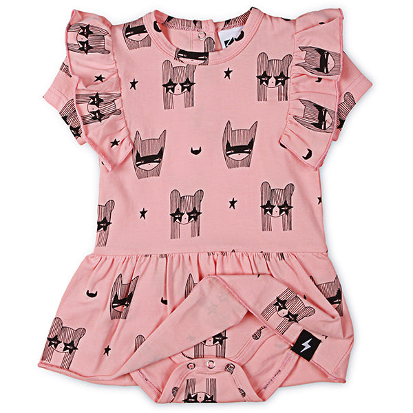 Kapow Kids_Super Girl Baby Dress - The Child Hood