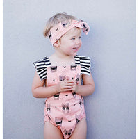 Kapow Kids_Super Girl Baby Playsuit - The Child Hood