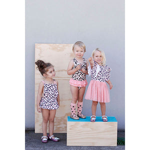 Kapow Kids_Cheetah Tutu Dress - The Child Hood