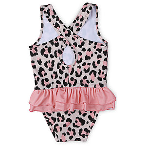 Kapow Kids_Cheetah Ruffle Swimsuit - The Child Hood