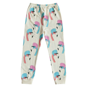 Gardner and the Gang_Leggings Helmut Flamingo - The Child Hood