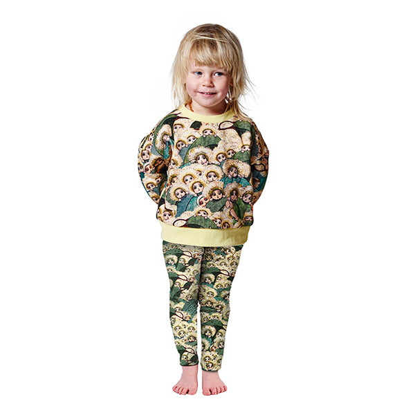 Kip & Co_May Gibbs x Kip & Co Peek A Boo Jersey Leggings - The Child Hood