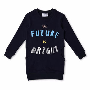Minti_The Future is Bright Furry Dress - The Child Hood