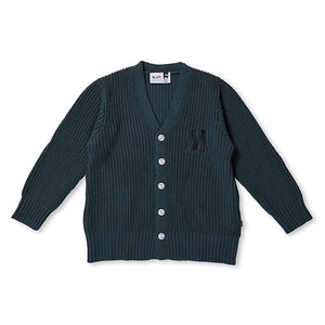 Minti_Chunky Knit Cardy - Forest - The Child Hood