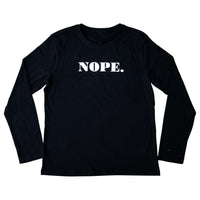 Nope BASIC long Sleeve Tee