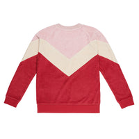 Retro Sweat - Pink/Burgundy