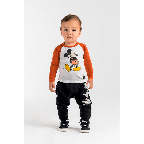 Rock Your Baby_Mouse in the House Baby Track Pants - The Child Hood