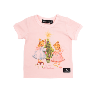 Rock Your Baby_Christmas Eve Baby T-Shirt - The Child Hood