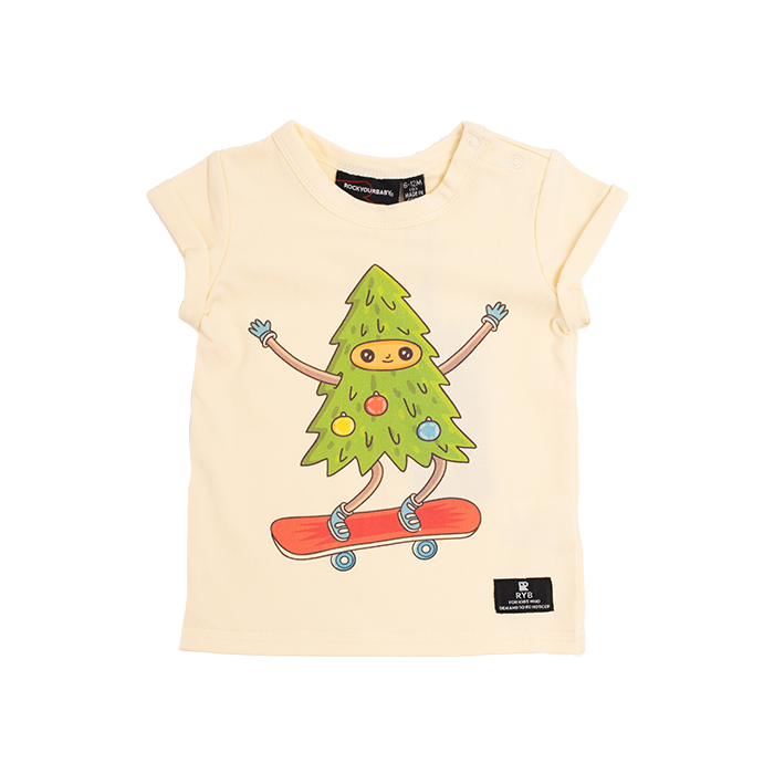 Don't Hate Just Skate Baby SS T-Shirt