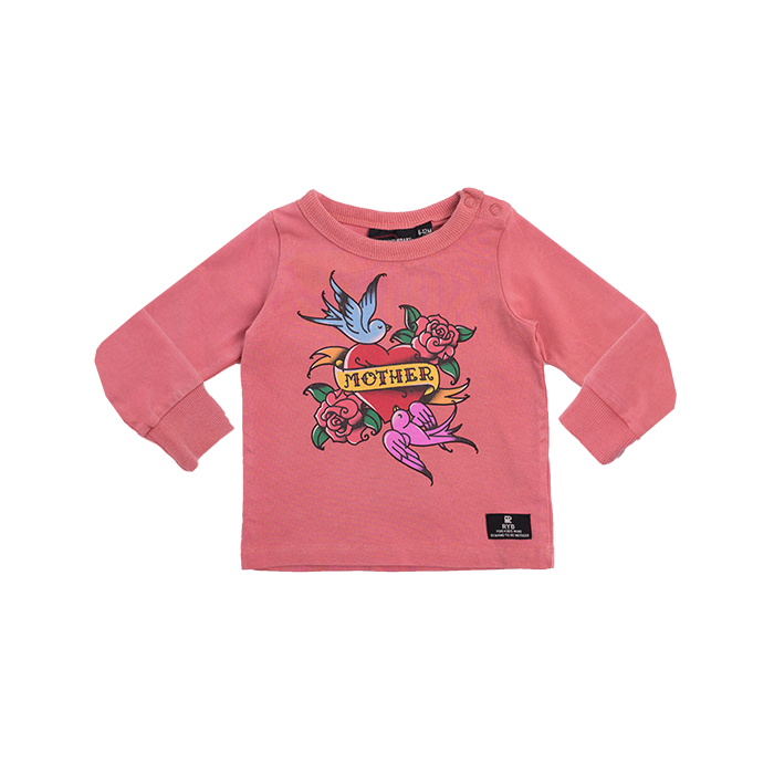 Rock Your Baby_Mother Baby Long Sleeve T-Shirt - The Child Hood