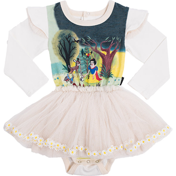 Snow White and Friends Long Sleeve Baby Circus Dress