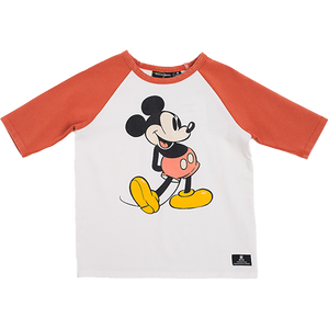 Rock Your Baby_80s Mickey 3/4 Sleeve T-Shirt - The Child Hood
