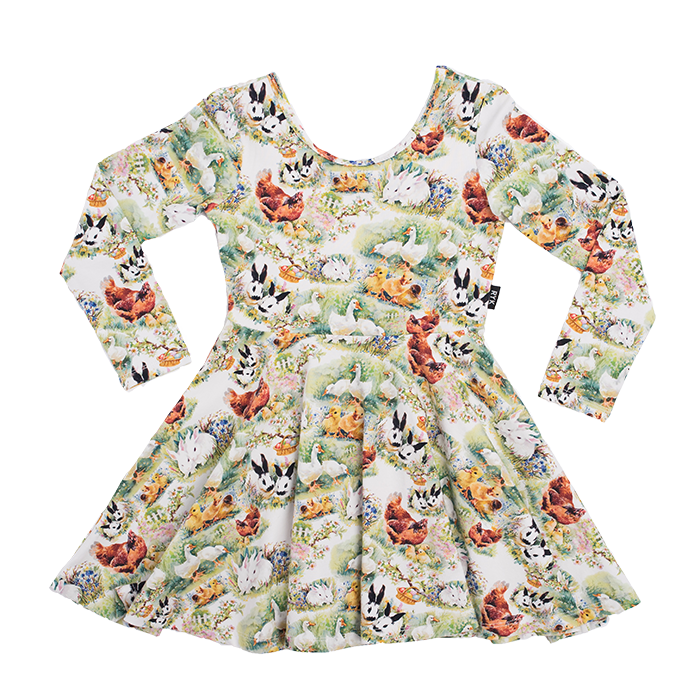 Rock Your Baby_Free Range Long Sleeve Mabel Dress - The Child Hood