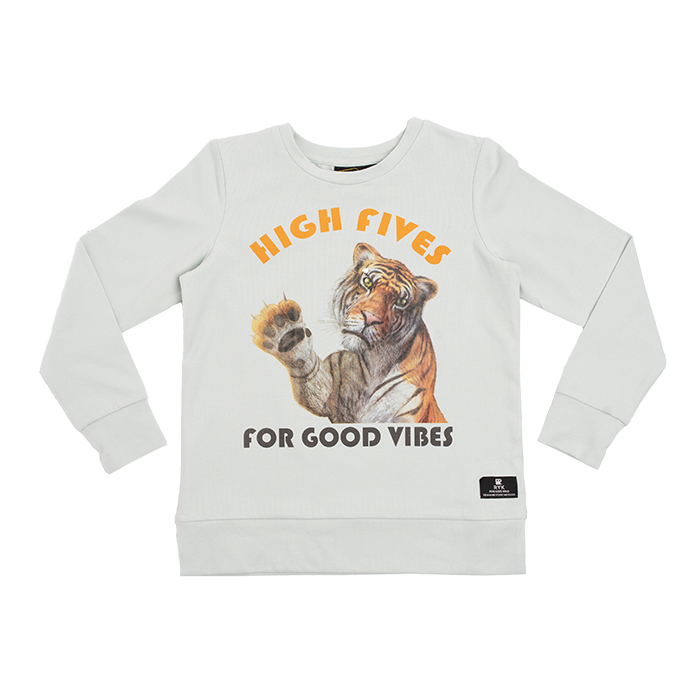 Rock Your Baby_High Fives Long Sleeve T-Shirt - The Child Hood