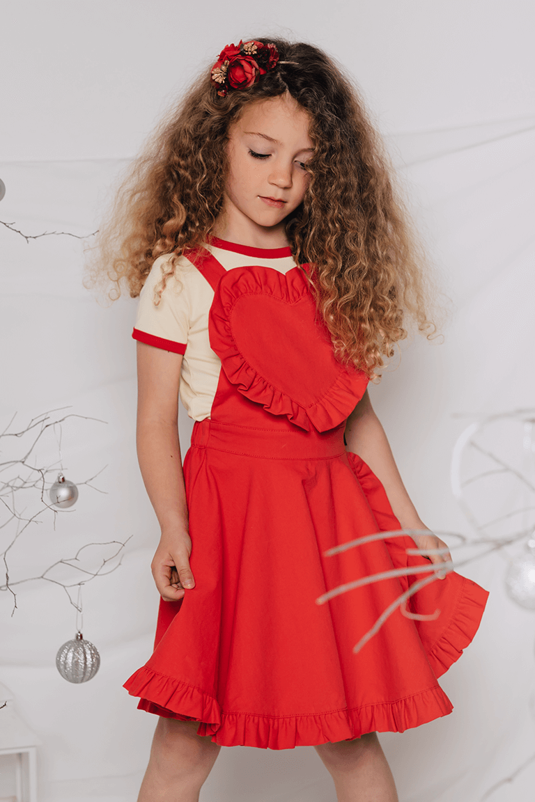 Rock Your Baby_Love Heart Audrey Dress - The Child Hood