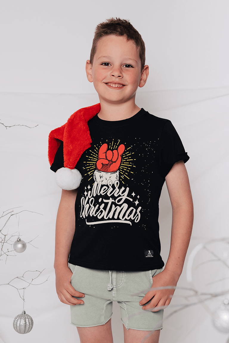 Rock Your Baby_Merry Christmas T-Shirt - The Child Hood