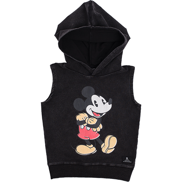 Rock Your Baby_Mighty Mickey Sleeveless Hoodie - The Child Hood