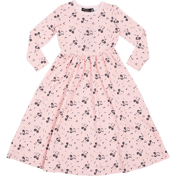 Rock Your Baby_Musical Mickey Long Sleeve Maxi Dress - The Child Hood